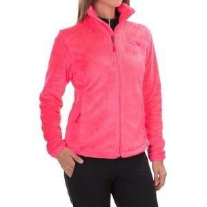 North Face Osito Jacket Neon Coral